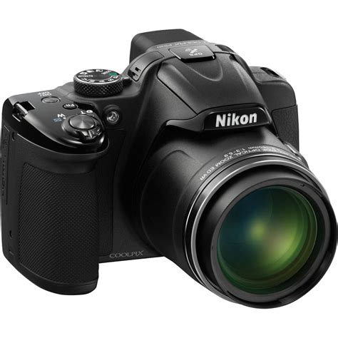 Nikon P520 by Nikon Coolpix P520 Digital Black 26397 B H Photo