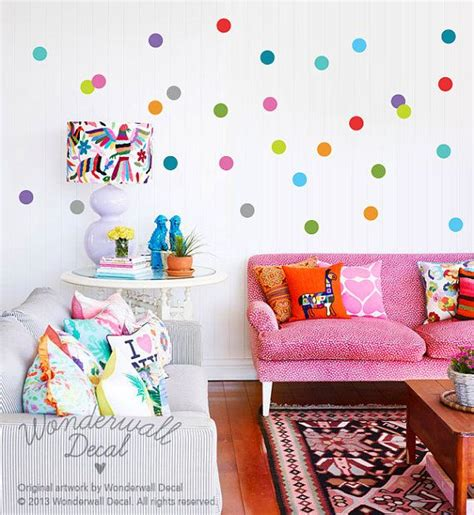 25 best ideas about polka dot wall decals on
