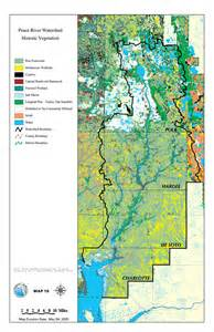peace river watershed historic vegetation may 4 2001