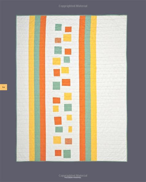 Modern Minimal Quilts by Modern Minimalist Quilt Patterns Find This Pin And More On