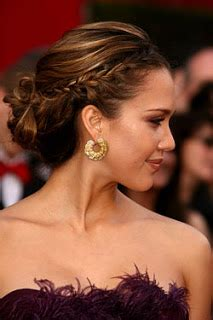 braided hairstyles jessica alba great celebrity hair jessica alba s hair braided updo