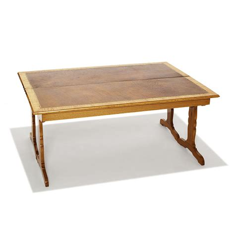 gallery bac flip top coffee table in oak by jean michel