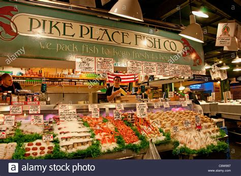 A New Way Of Shopping With Marketplace by Seattle Pike Place Fish Monger Farmers Market Washington