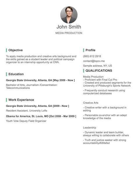 How To Create A Professional Resume by Professional Cv Resume Builder With Many Templates