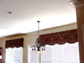 Valances in Keeping Room