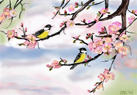 spring pictures to draw spring an animals speedpaint drawing by marilens in