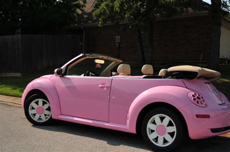 pink volkswagen beetle pink vw beetle i want it cars awesome