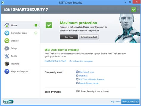 Software Antivirus Eset Nod32 Smart Security 10 3 Pc 2 Tahun Terlaris eset 7 adds exploit blocker support