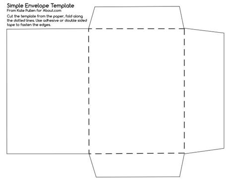 1000 ideas about envelope templates on pinterest