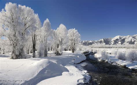 winter landscape wallpaper 68712