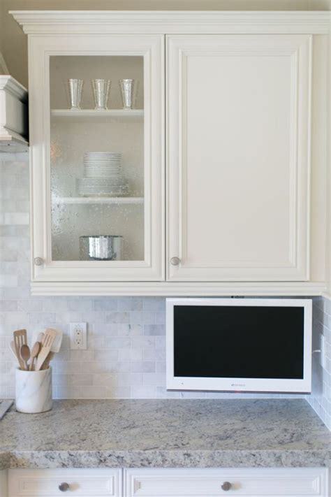 kitchen tv cabinet best 25 kitchen tv ideas on wood mode tv in