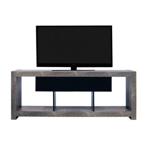 Meuble Tv Effet Beton 4236 by Meuble Tv Design Nara Effet Gris B 233 Ton