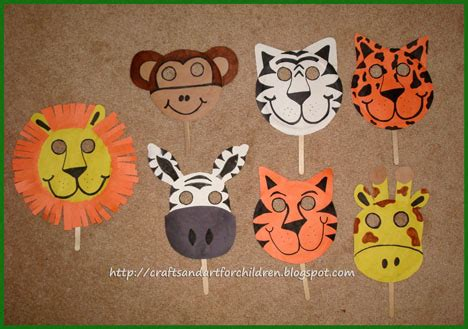 How To Make Animal Mask With Paper Plate - crafts s children