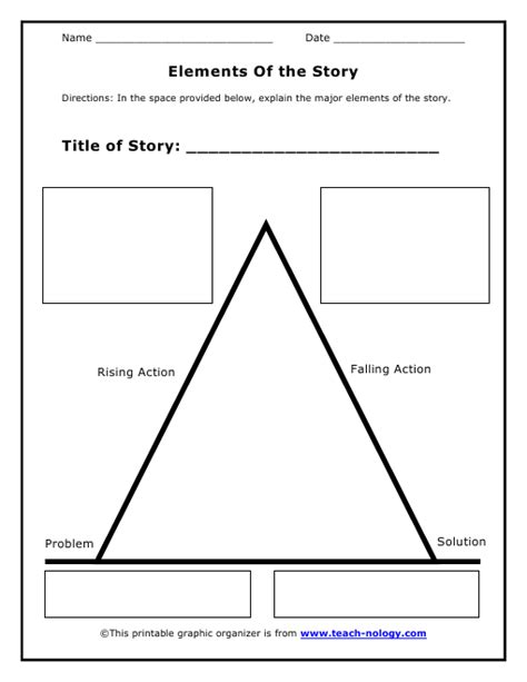 Story Element Worksheets by Story Elements Printables