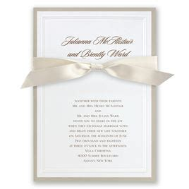 Wedding Invitation With Photo by Sophisticated Border Invitation Invitations By