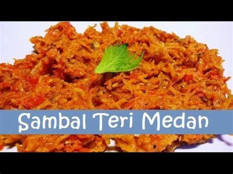 Sambal Ijo Teri Medan Enaakk clip hay sambal teri medan medan anchovy sauce weglew rxlq xem clip hay nhất 2016 2017