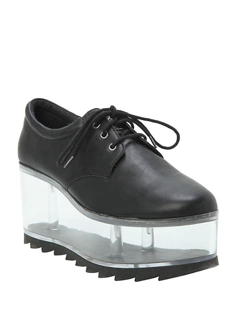 black clear platform shoes topic