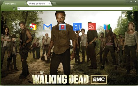 theme google chrome the walking dead 4web geek temas the walking dead para google chrome