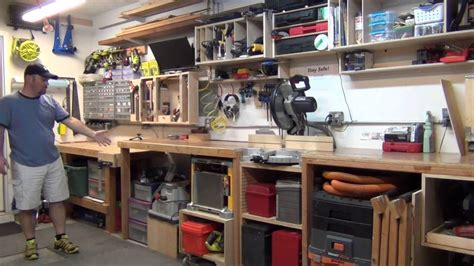 garage workshop tour youtube