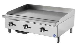 purefg 36ng 36 commercial flat top gas grill countertop