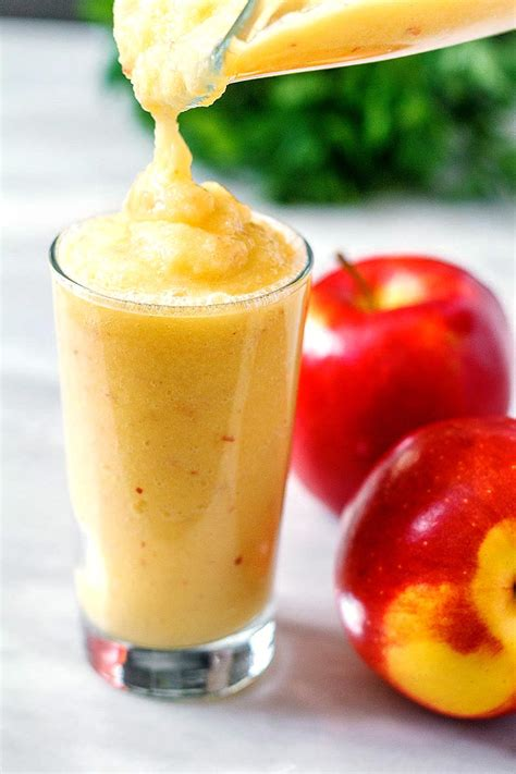 Apple Banana Detox Smoothie by Crisp Apple Banana Smoothie Recipe Eatwell101
