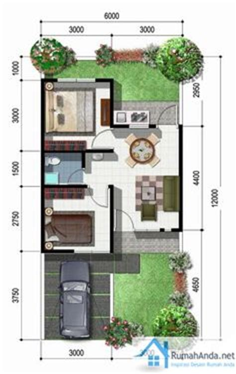 mengagumkan gambar model denah rumah minimalis type 45 gambar model rumah minimalis modern