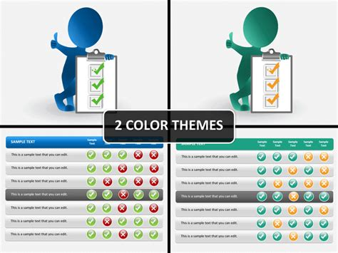 Checklist Powerpoint Template Sketchbubble Powerpoint Checklist Template