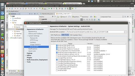 android studio emulator android studio installation on ubuntu linux by dr dawson computer science education