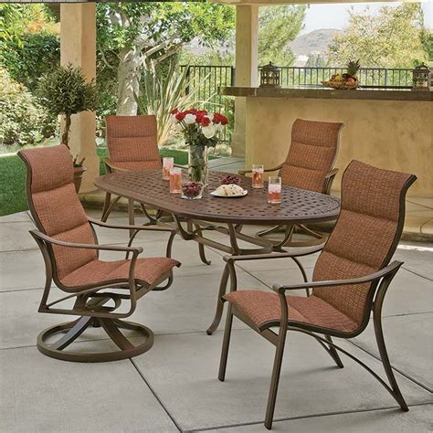 tropitone patio furniture patio casual tubs fireplaces patio furniture