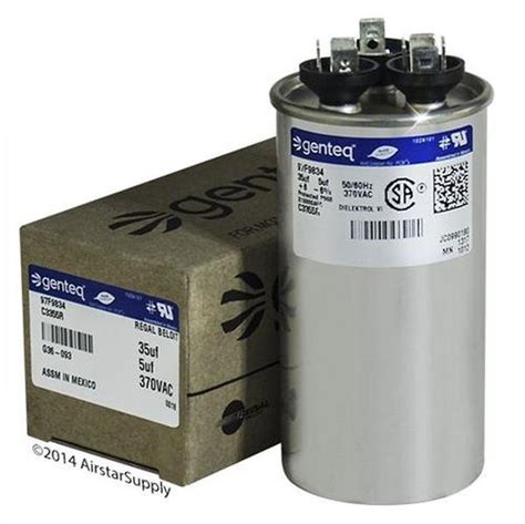 a 0 25 uf capacitor is connected to a 9 0 v battery blower motor capacitor 10 uf 370 v