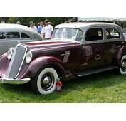 1934 Hupmobile Aerodynamic  Stahls Automotive Collection