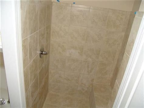 small standing shower small stand up shower with a bench reply re stand up shower pics here is ours in the master