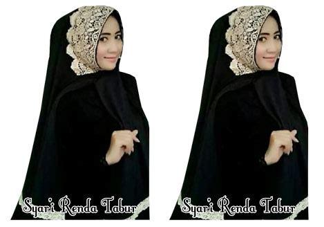 Jilbab Syari Instan Kerudung Khimar Tabur Mutiara toko bandung jual syar i grosir