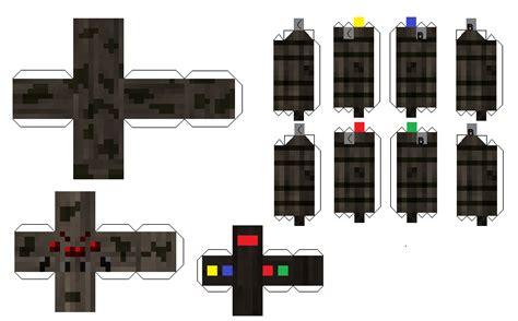 Minecraft Papercraft Spider - papercraft spider jockey