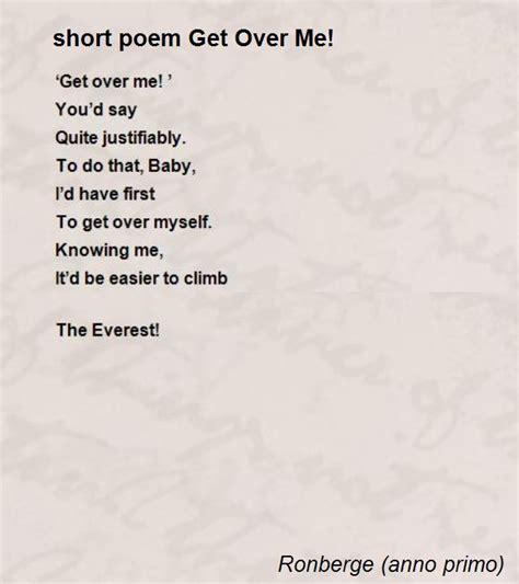 poem get me poem by ronberge anno primo