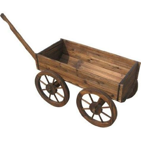 wooden wagon planter wooden planter wagon garden