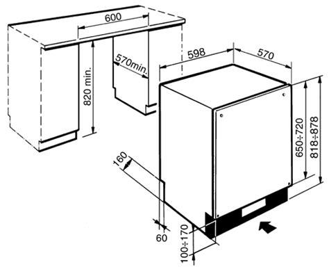 us standard sizes for dishwashers dishwashers dishwasher dimensions