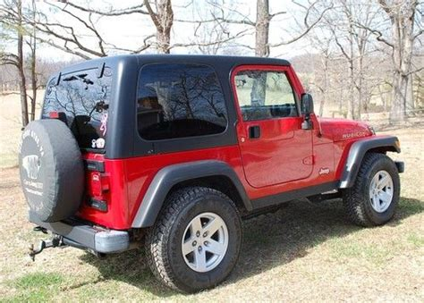 Used Jeep Wrangler Rubicon 2 Door Purchase Used 2006 Jeep Wrangler Rubicon Hardtop 2