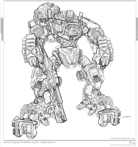 transformers hound coloring page transformers hound lineart by johngiang on deviantart