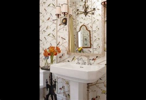 bathroom wallpaper canada 32 best images about beautiful powder rooms on pinterest