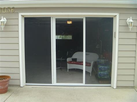 Overhead Garage Door Screens Garage Door Bug Screen Doors With Retractable Center Screen Door Yelp