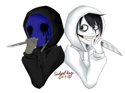imagenes de jack vs jeff the killer eyeless jack and jeff the killer by snidget king on deviantart