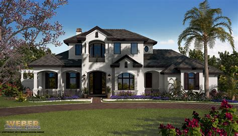 country design burgundy manor house plan weber