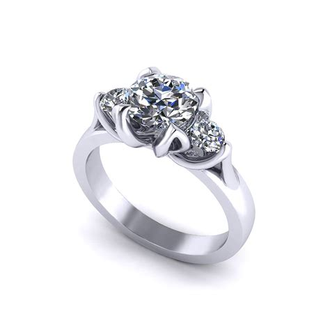 tulip 3 engagement ring jewelry designs