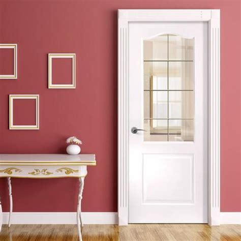internal pvc doors white glazed panel direct doors
