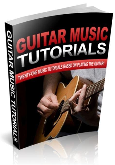 Plr Tutorial guitar lesson tutorials with plr ebooks