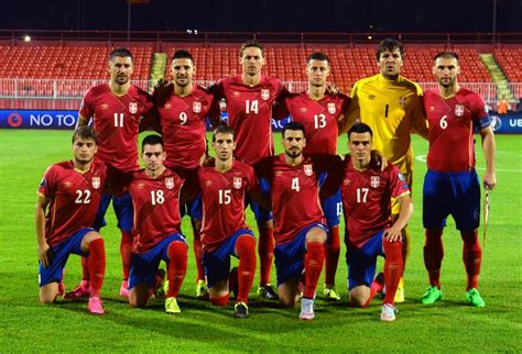 Serbia World Cup World Cup 2018 Qualifiers Team Photos Serbia National