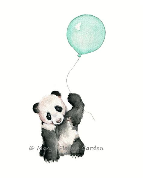 Mint Green Baby Shower by Art Nursery Mint Nursery Print Mint Balloons Mint Green