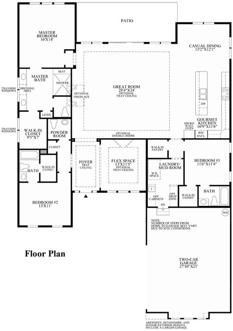 the ridge on sedona golf resort floor plan robertson 100 floor plan 100 robertson 100 floor plan