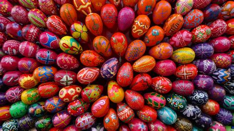 colorful easter eggs colorful easter eggs wallpaper 1920x1080 68309
